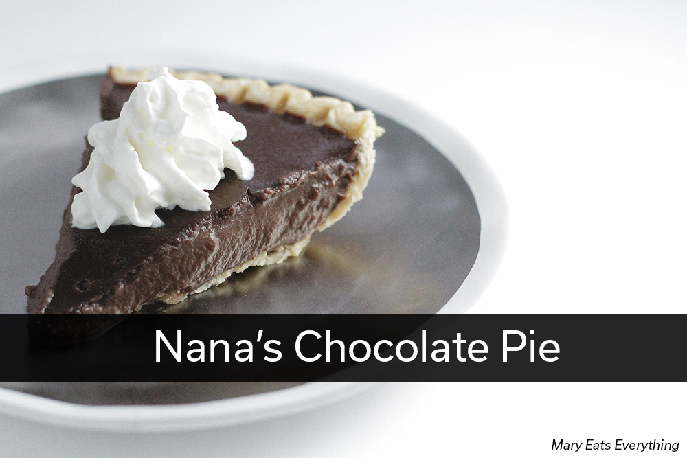 Nana's Chocolate Pie